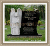 Cemetary Monuments in Alliston Ontario, Canada