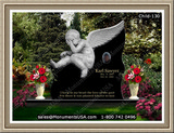 baby-monument-marker-baseball-angel