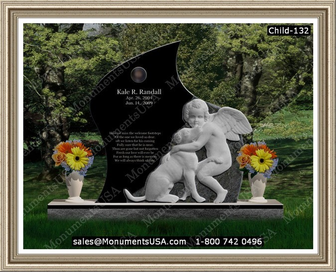 black-marble-gravestone-angel