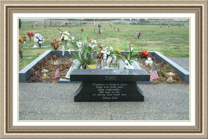 June Carter Cash Marble Gravestone Abilene Funeral Home