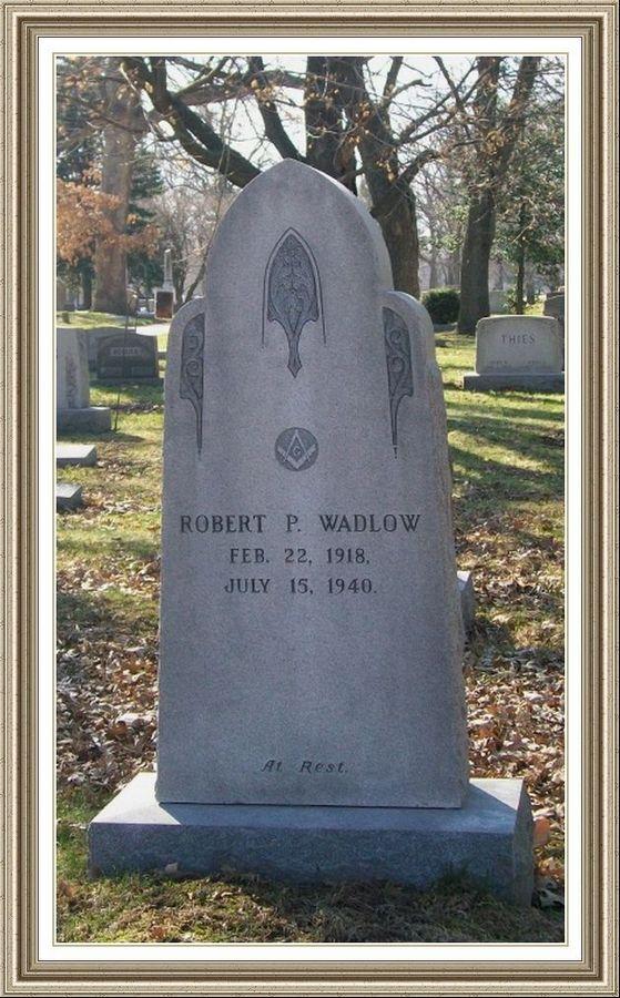 Robert Wadlow Monument Headstones Leitz Fraze Funeral Home Granite Gravestones For Immortal