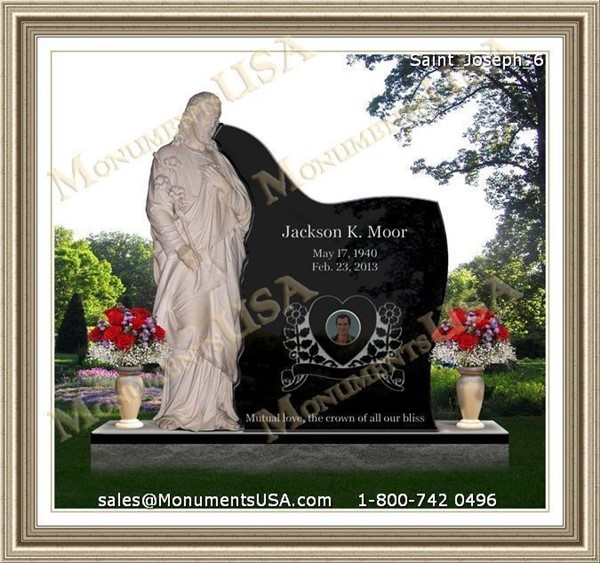 Left Eye Funeral Picture http://www.monumentsusa.com/Granite-Etching
