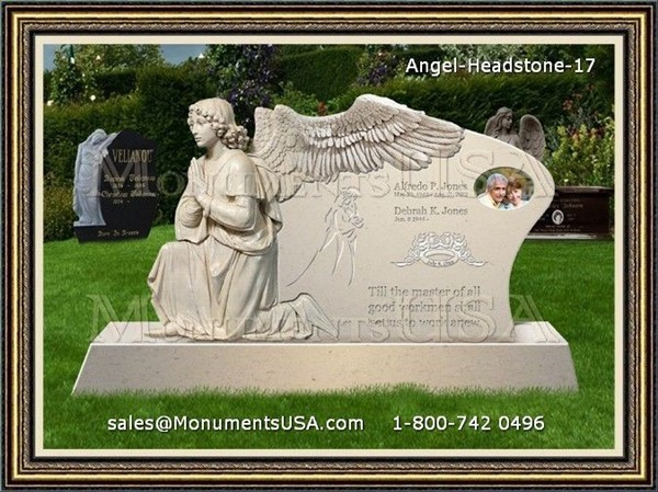 Headstone Floral Arrangements http://www.monumentsusa.com/Headstone-Photo/Floral-Arrangements-For-Funerals-50320.html