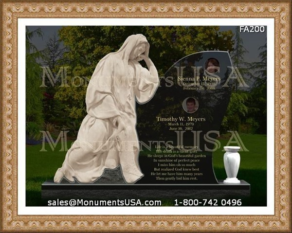Memorial Photos For Gravestones http://www.monumentsusa.com/Headstone/Granite-Memorial-Headstone.html