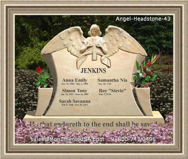 Memorial Photos For Gravestones http://www.monumentsusa.com/Marble-Headstone/Memorial-Headstone.html
