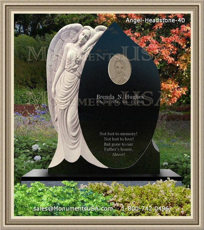 flower vases for gravestones with Angel Headstone 40 on panions furthermore Heart Shaped Memorial Angel besides Angel Standing With Flowers likewise Double Heart Memorial in addition Graveside Flower Vases.