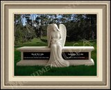 Granite Grave Markers Weeping Angel Figure
