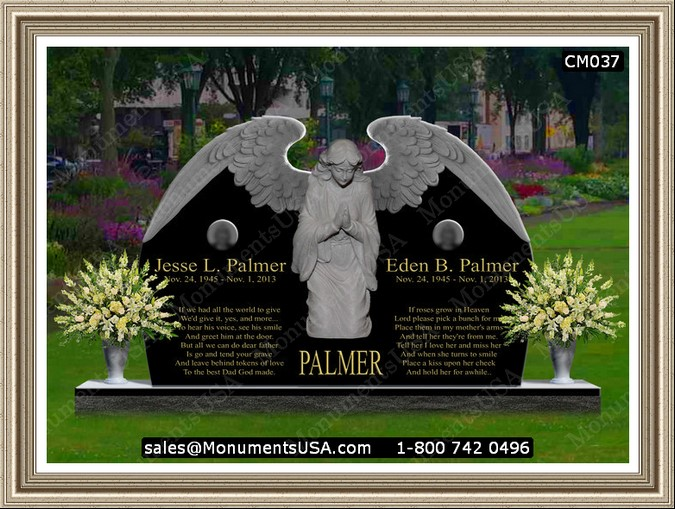 Father Amp Mother Graves Headstones Designs For Headstones