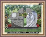 Christian Cross Icon Marble Monuments