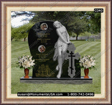 Christian Cross Icon Markers Headstones