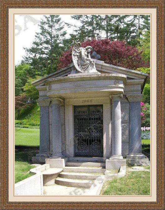Mausoleum Memorials Stones Mausoleum Burial Monument