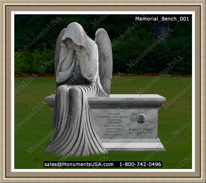 Gravestone Benches Part - 25: Memorial Benches | Headstone | Memorial | Monument | Tombstone | Gravestone