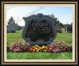 Flower Logo Design Children Monument