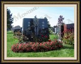 Flower Logo Design Custom Headstone