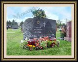 Flower Logo Design Design Tombstone