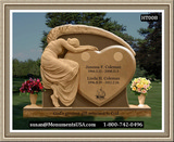 Shape Of A Heart Monument Marker