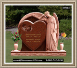 Shape Of A Heart Monument Statues