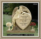 Shape Of A Heart Monuments And Headstones