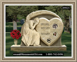 Shape Of A Heart Monuments And Statues