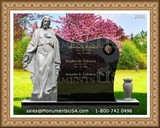 Jesus Themed Tombstone Designs