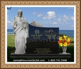 Jesus Themed Design Headstone