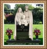 Jesus Themed Design Headstones