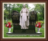 Jesus Themed Design Monuments