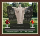 Jesus Themed Design Tombstone