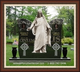 Jesus Themed Designs For Headstones