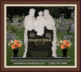 Jesus Themed Gravestones Designs