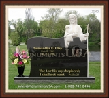 Jesus Themed Headstone Designs