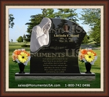 Jesus Themed Headstones Designs