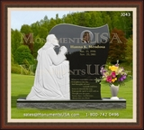 Jesus Themed Memorial Monument Designs