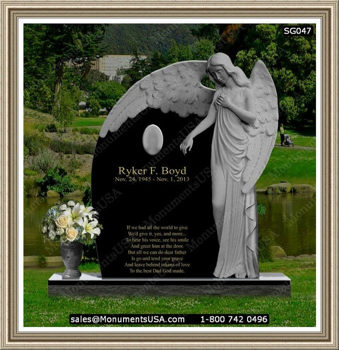 Memorial Grave For One Pictures Of Gravestones For Single