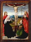 Cross Jesus Delineation On Marker Grave