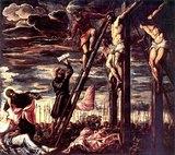 Cross Jesus Delineation On Memorial Headstone