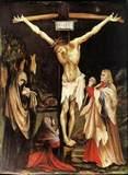 Cross Jesus Delineation On Memorial Rock