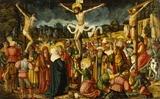 Cross Jesus Delineation On Memorial Stones
