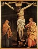 Cross Jesus Delineation On Memorials Headstones