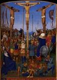 Cross Jesus Delineation On Memorials Monuments