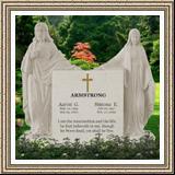 Jesus Headstone