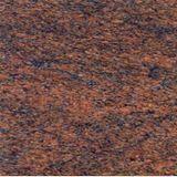 Burgundy Granite For Cross For Grave