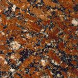 Burgundy Granite For Headstone Cross