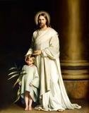 Help Me Jesus Paintings On Monument Sculpture