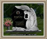 Headstones gravestones monuments tombstones for La porte indiana usa