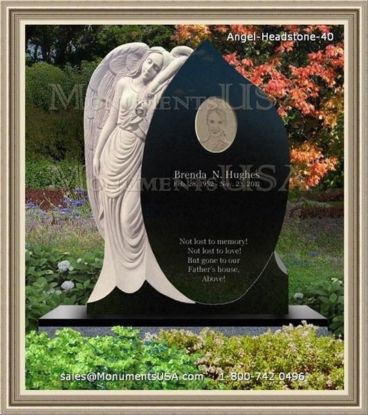 Headstones Gravestones Monuments Miami Oklahoma Usa